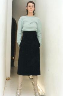 Aurelie in Lutz, F/W 2000 Photo: Wolfgang Tillmans